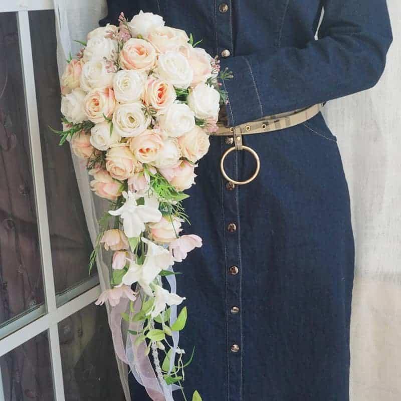 Wedding Flowers Roses Birdal Bouquet