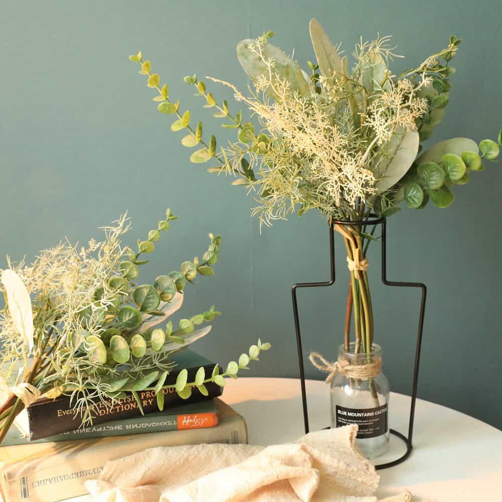 Artificial Plants Folium Perilla Grass Bunch 5