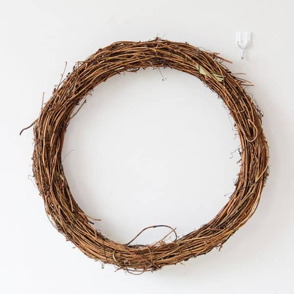 Natural Grapevine Wreath 1