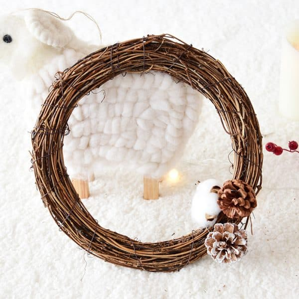 Natural Grapevine Wreath 2