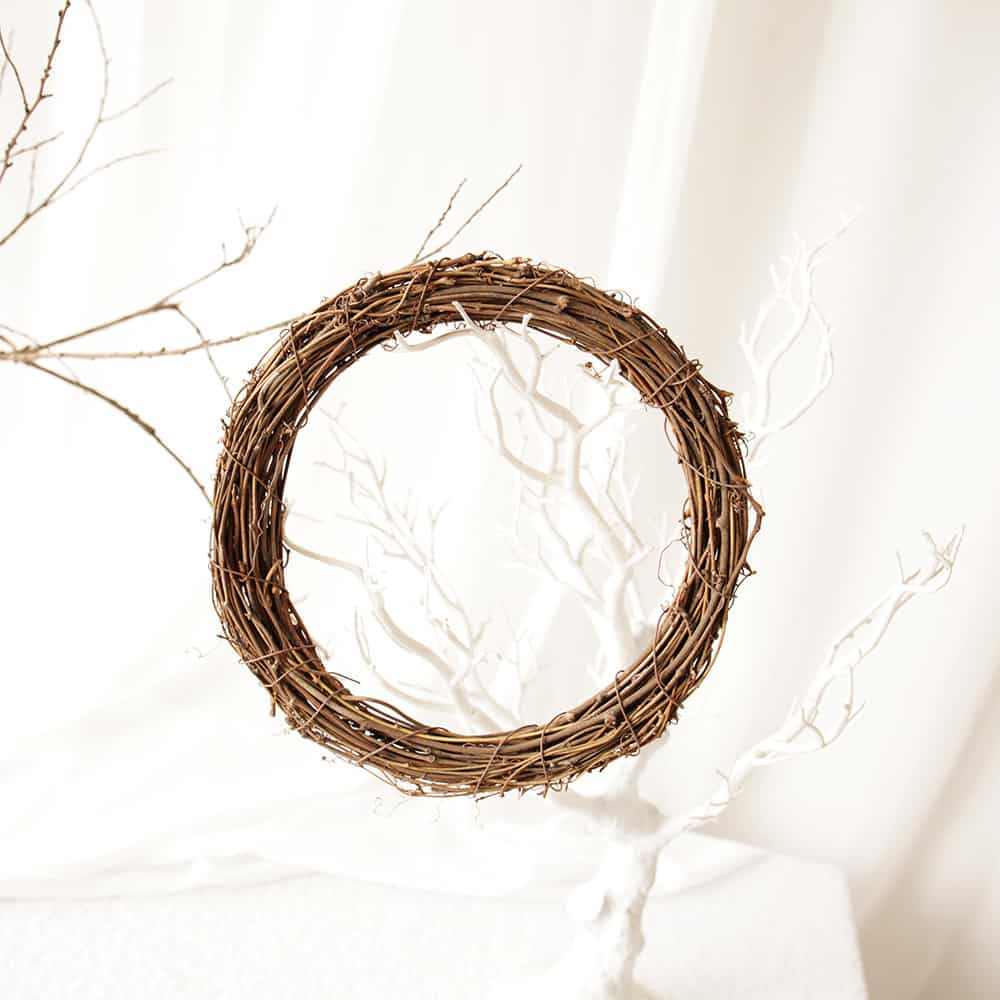 Natural Grapevine Wreath 3