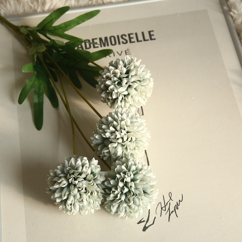 Artificial Flower Dandelion 4 Heads 15