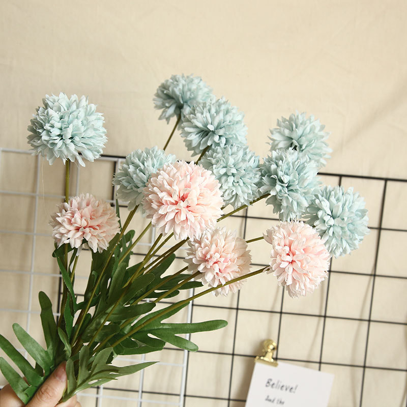 Artificial Flower Dandelion 4 Heads 3