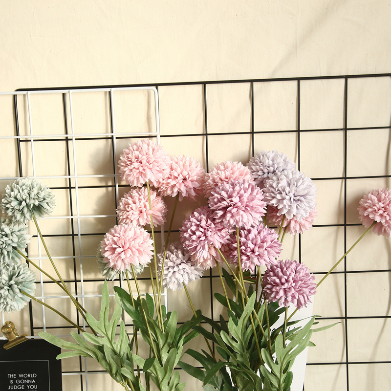 Artificial Flower Dandelion 4 Heads 4
