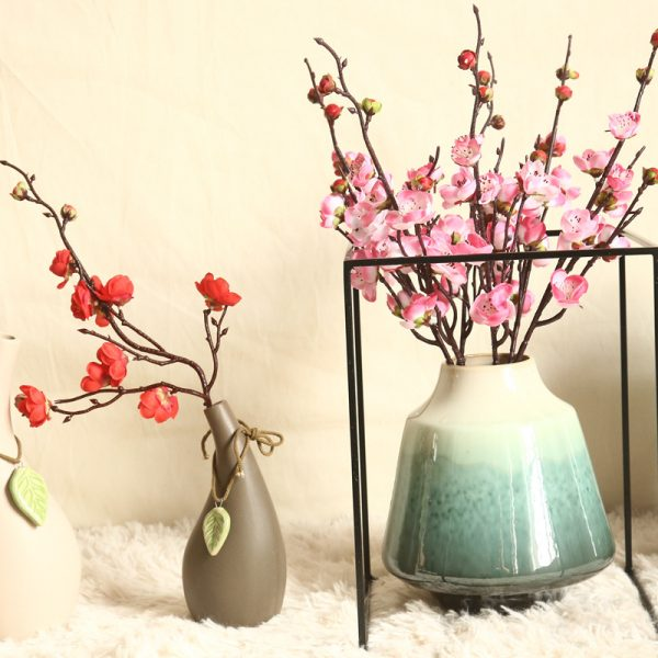 Artificial Flowers Flower Japan Wintersweet Branch 3