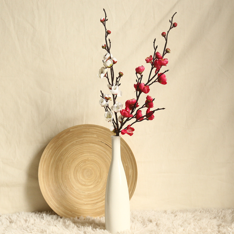 Artificial Flowers Flower Japan Wintersweet Branch Long 1