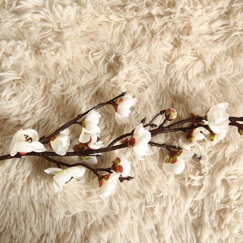 Artificial Flowers Flower Japan Wintersweet Branch Long 11