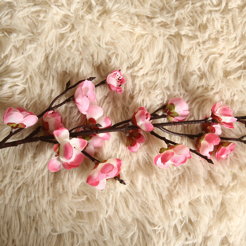 Artificial Flowers Flower Japan Wintersweet Branch Long 12
