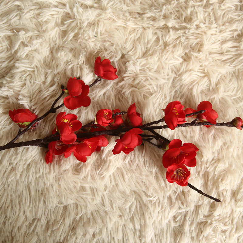 Artificial Flowers Flower Japan Wintersweet Branch Long 13