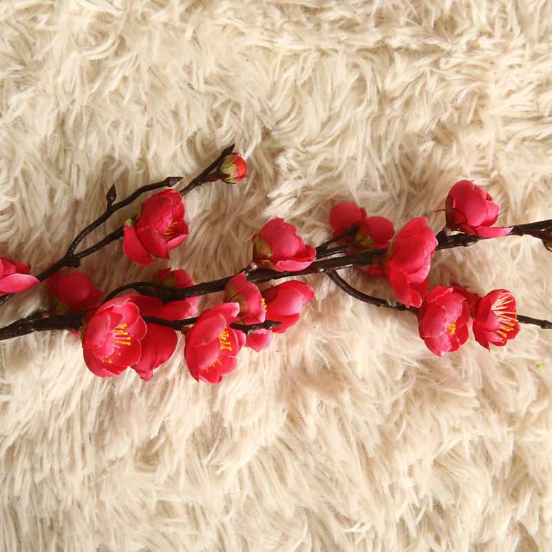 Artificial Flowers Flower Japan Wintersweet Branch Long 14