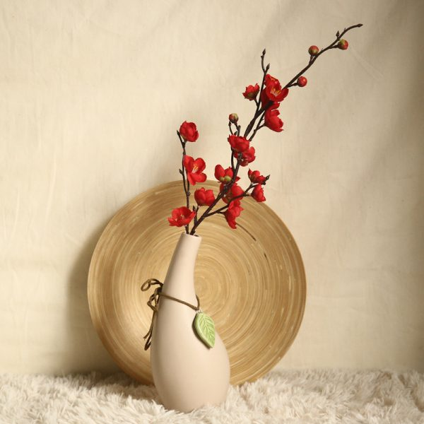 Artificial Flowers Flower Japan Wintersweet Branch Long 4