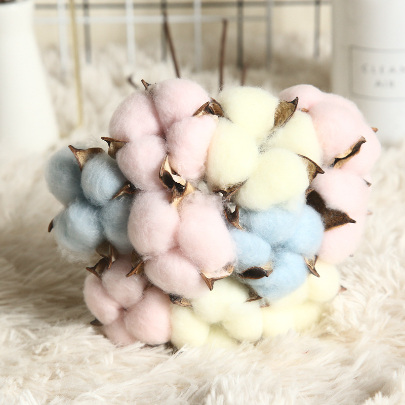Artificial Plants Colored Cotton Bundle 2