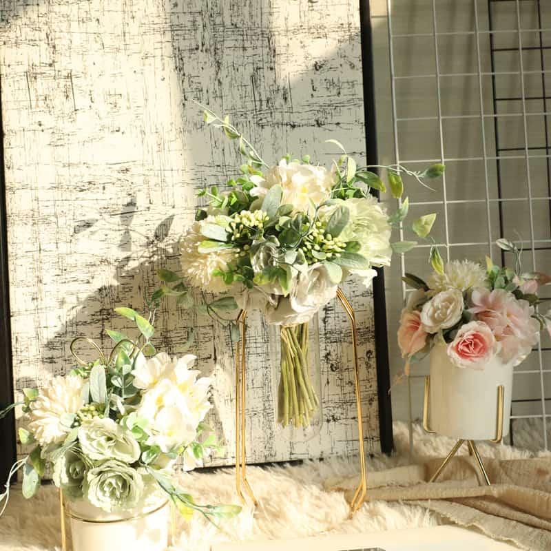 Artificial Flowers Bouquet Charlotte Bunch 4