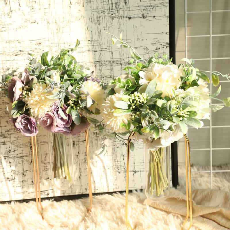 Artificial Flowers Bouquet Charlotte Bunch 3