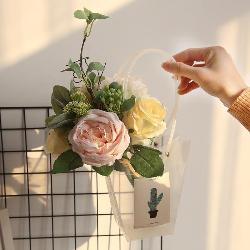 Rose Peony Hydrangea Bunch 5