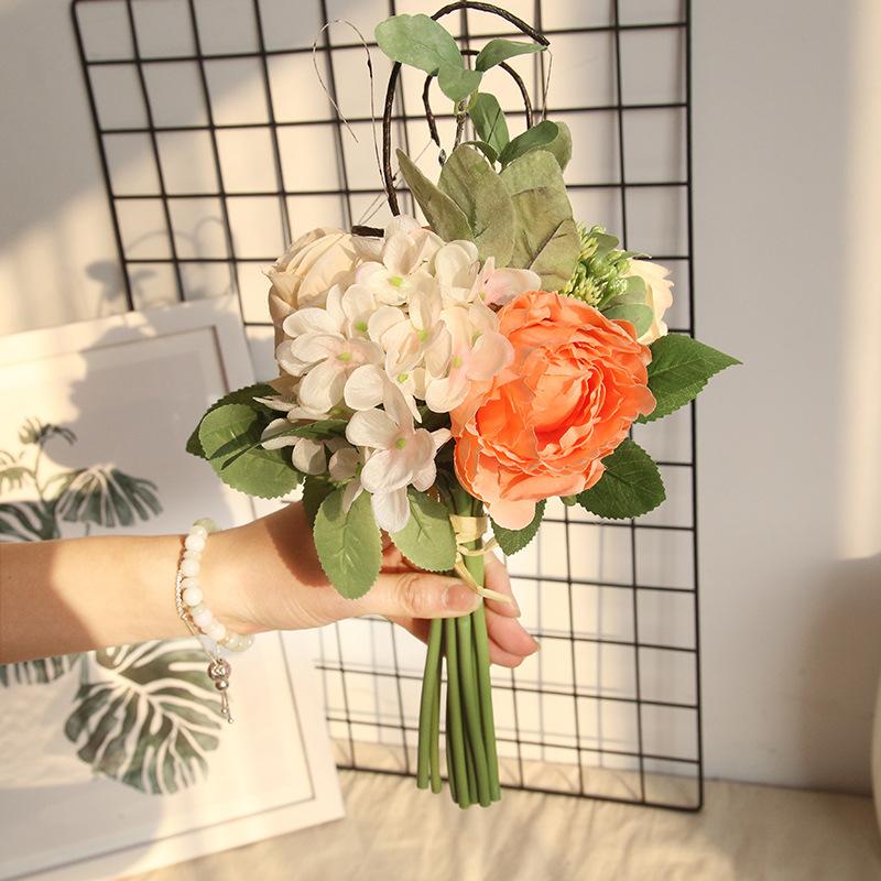 Rose Peony Hydrangea Bunch 3