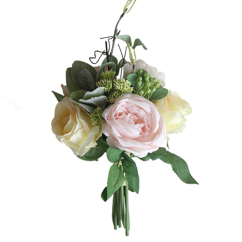 Rose Peony Hydrangea Bunch 1